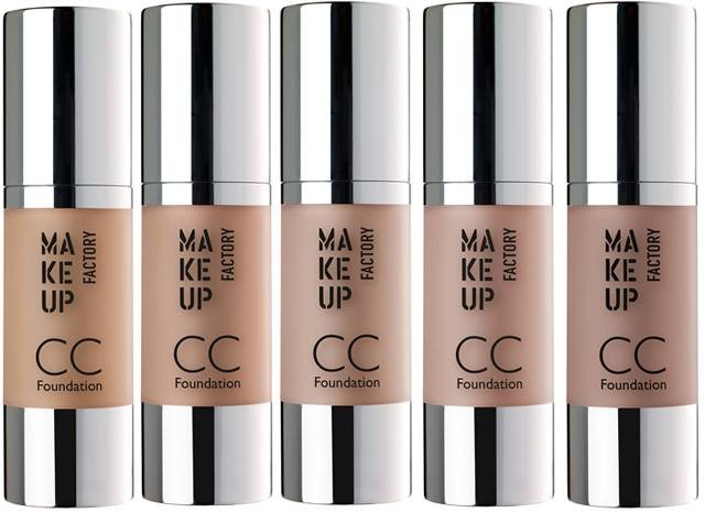 MAKE UP FACTORY CC FOUNDATION 30 ML