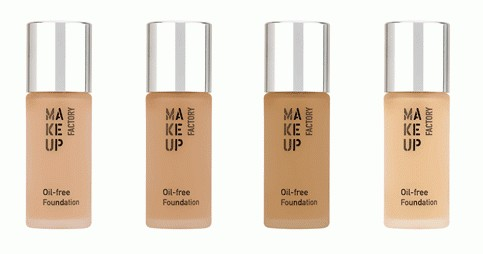 MAKE UP FACTORY OIL-FREE FOUNDATION 20 ML