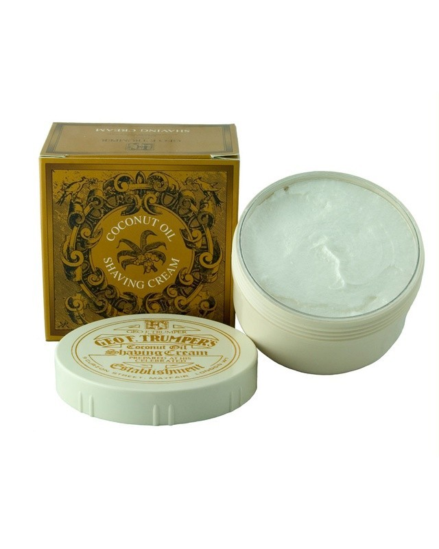 COCONUT OIL SOFT SHAVING CREAM BOWL 200 GR