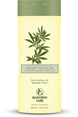 AUSTRALIAN GOLD HEMP NATION DARK INTENSIFIER WITH HYDRARICH BLEND 250 ML