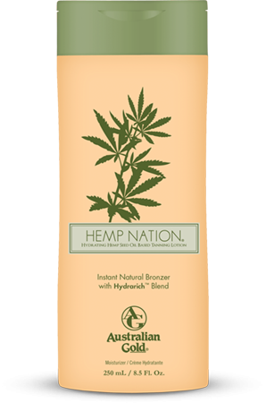 AUSTRALIAN GOLD HEMP NATION INSTANT NATURAL BRONZER WITH ULTRARICH BLEND