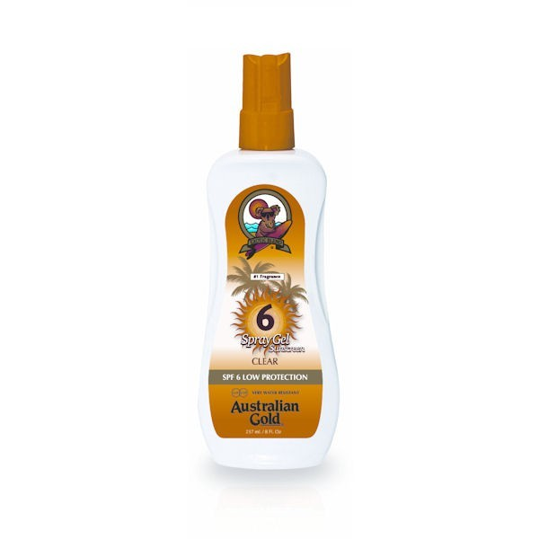 AUSTRALIAN GOLD SPF 6 SPRAY GEL 237 ML