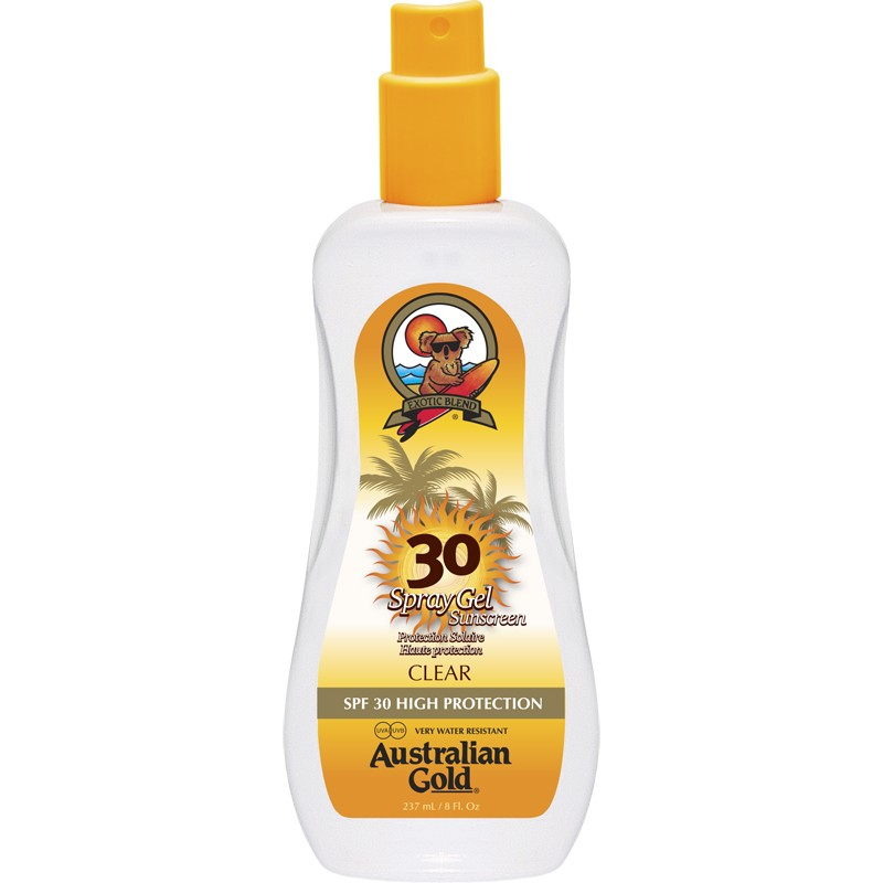 AUSTRALIAN GOLD SPRAY GEL SFP 30