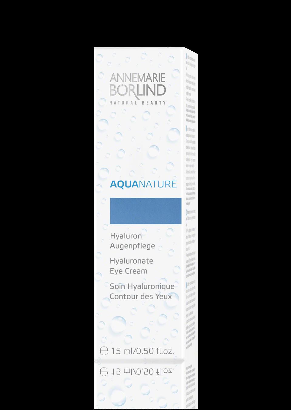 ANNEMARIE BORLIND AQUANATURE IALURONATO EYE CREAM 15 ML
