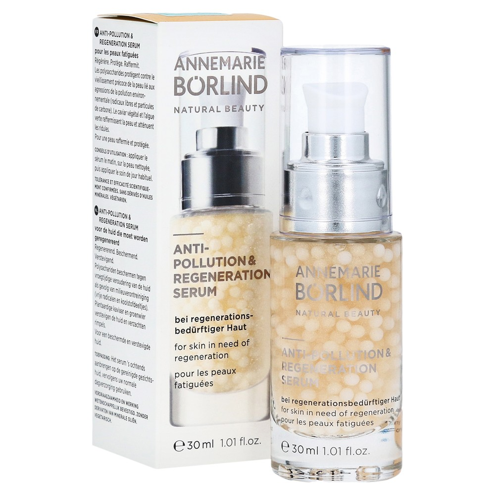 ANNEMARIE BORLIND  ANTI-POLLUTION & REGENERATION SERUM 30 ML