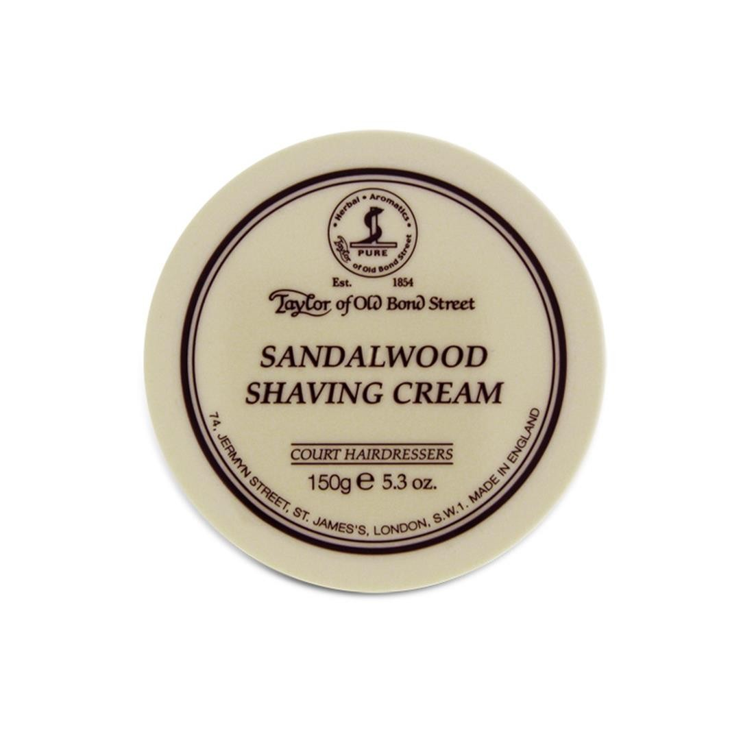 SANDALWOOD SHAVING CREAM 150 GR