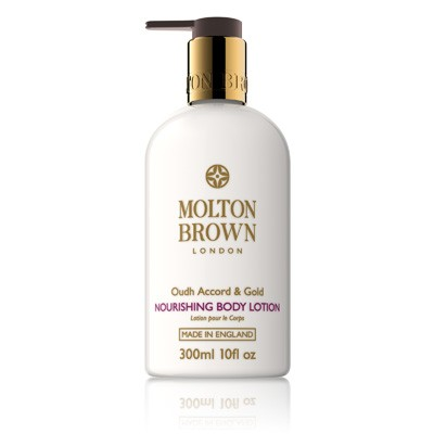 MOLTON BROWN OUDH ACCORD &GOLD BODY LOTION 300 ML