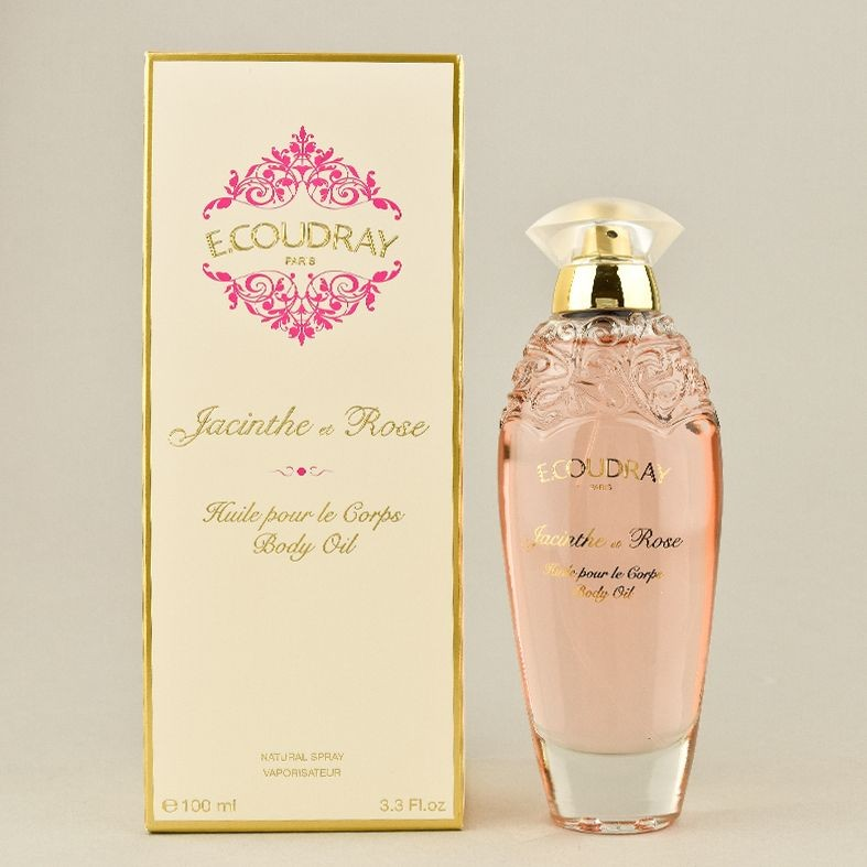 E.COUDRAY JACINTHE ET ROSE BODY OIL 100 ML